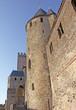 fortification de la cité médiévale de Carcassonne