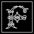 Celtic Knot-work Capital Letter F