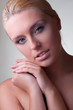 nude portrait blond girl
