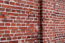 Stary mur ceglany