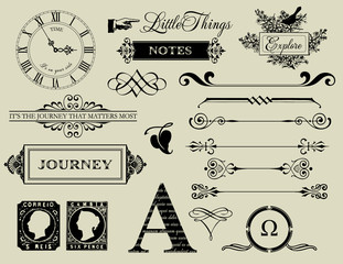 Design Elements - Header collection