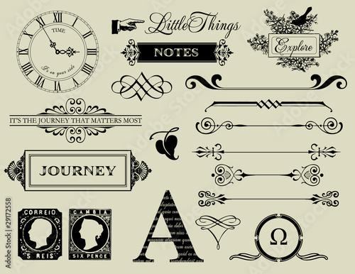 Design Elements - Header collection