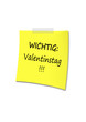 Post-It Valentinstag