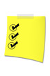 Post-It Checklist