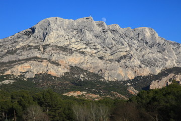 Sainte Victoire, la Provence