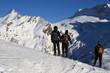 escursione con le racchette da neve