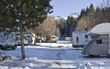 camping invernale