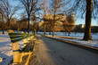 Boston Common in the Winter