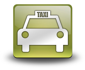 "Yellow 3D Effect Icon ""Taxi Cab"""