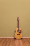Fototapety Zimmer mit Gitarre