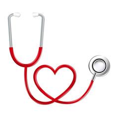 Stethoscope In Shape Of Heart