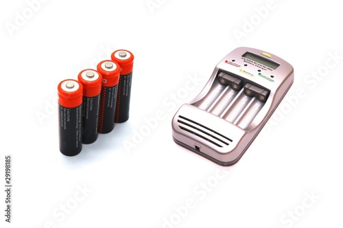 Charger and accumulators