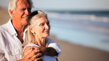 Healthy & Contented Couple in Retirement