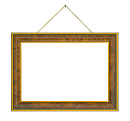 Retro frame with string