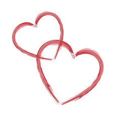 Herzen gezeichnet