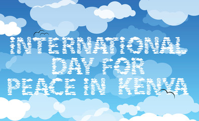 international day for peace in Kenya
