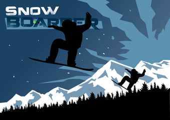 Snowboard Winter Flyer