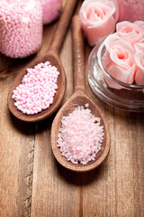 Aromatherapy salt - spa supplies