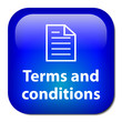 TERMS AND CONDITIONS Button (legal use contract sales copyright)