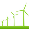 Eco Green Turbines Illustration