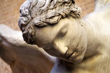 faccia di angelo - scultura
