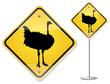 ostrich sign