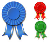 Ribbon-rosettes