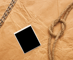 rope and old photo