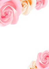Rahmen aus Rosen