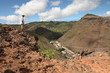 Walking in the hills above Jamestown on St Helena