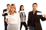 Dynamisches Business Team