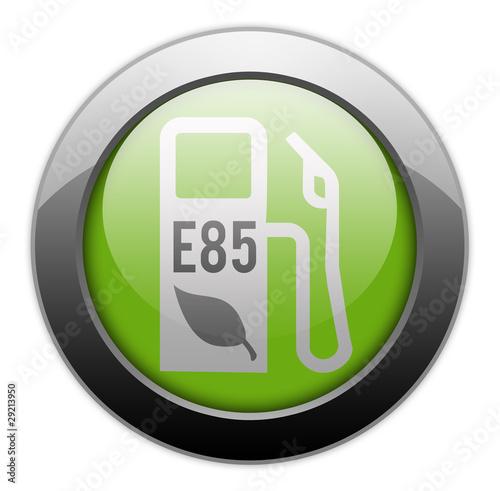 metallic orb button e85 ethanol photo libre de droits sur la banque d 39 images. Black Bedroom Furniture Sets. Home Design Ideas