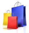 3 Einkaufstaschen