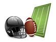 American football design elements