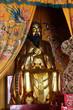 Golden Statue of Confucius, China