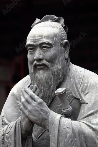 Papiers peints Statue Statue of Confucius at Confucian Temple in Shanghai