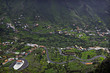 Valley Gran Rey at la Gomera island. Canary islands. Spain.
