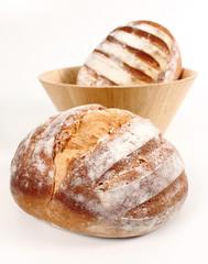 pan fresco en primer plano