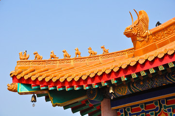 Roof of Chinese Shrine