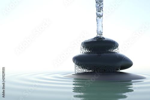 Fototapeten,zen,wasser,steine,gleichgewicht