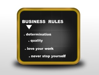 business rules concept