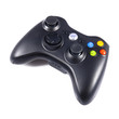Wireless black gamepad