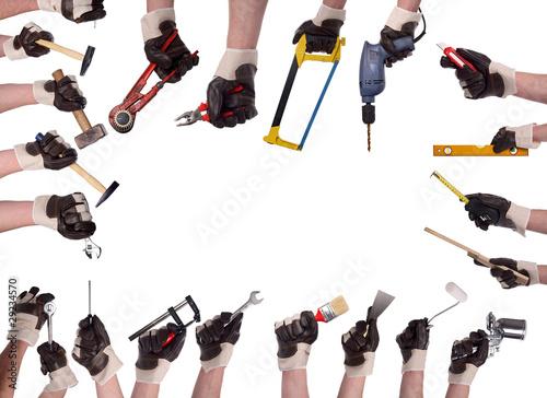Hand tool Megaset