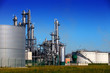 Chemical refinery and tank farm