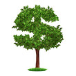money tree savings growth investments business symbol