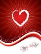 Bursting heart design