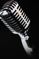 50s 60s microfono