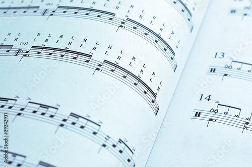 Music pages