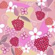 Beautiful floral texture
