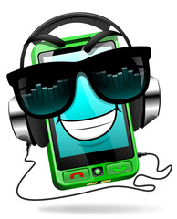 Music on your mobile mascot